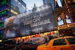 NEW YORK, NY - DECEMBER 22:  The scene outside...