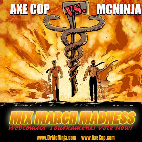 Axe Cop vs. Dr. McNinja!