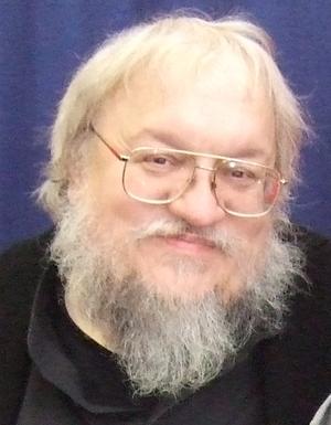 George RR Martin at the Comicon