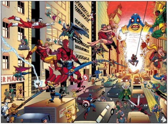 Marvel Crisis On Infinite Earths