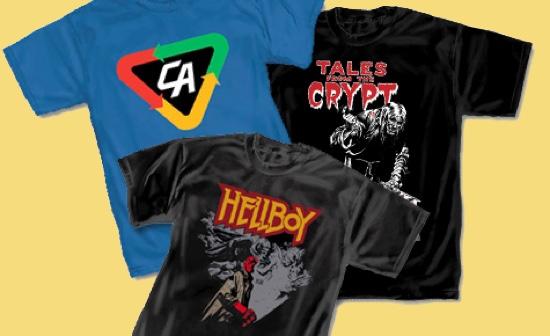 trio of Graphitti Tshirts