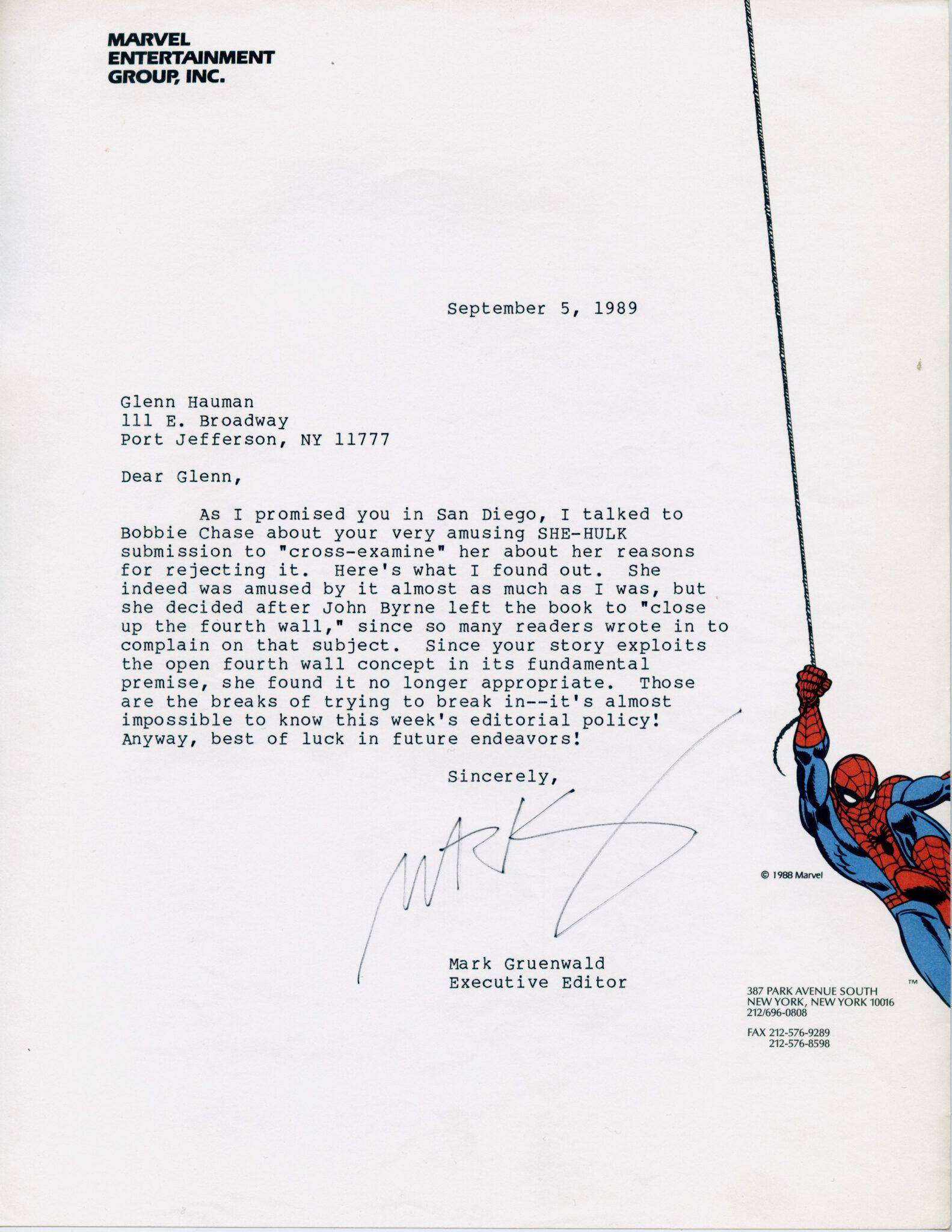 marvel-mark-gruenwald-rejection-letter