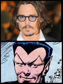 Johnny Depp & Sub-Mariner