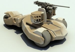 Batmobile Raider