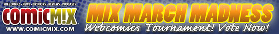 ComicMix March Madness Webcomics Tournament
