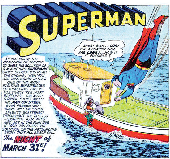 Superman #145 - The Night Of March 31st