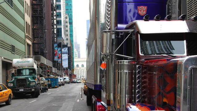 Optimus Prime ticketed