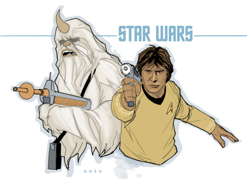 Star Wars Meets Star Trek
