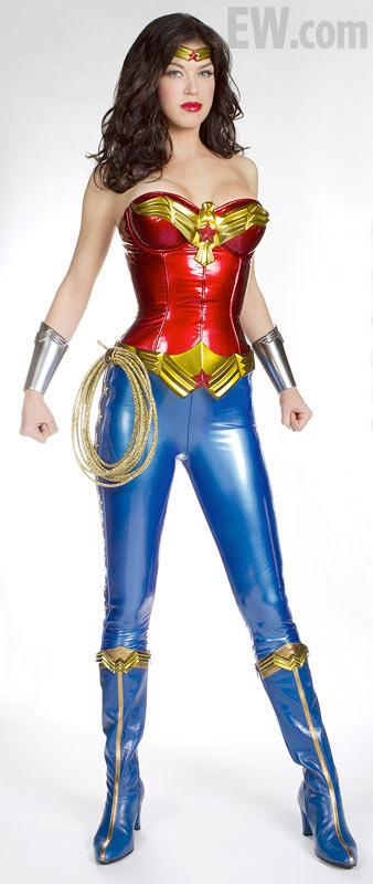 Adrianme Palacki as Wonder Woman