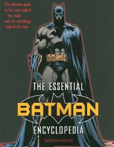 """Cover of """"The Essential Batman Encycloped..."""