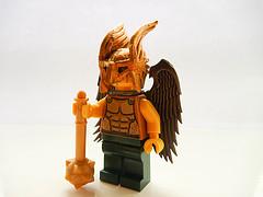 Hawkman, Fierce warrior