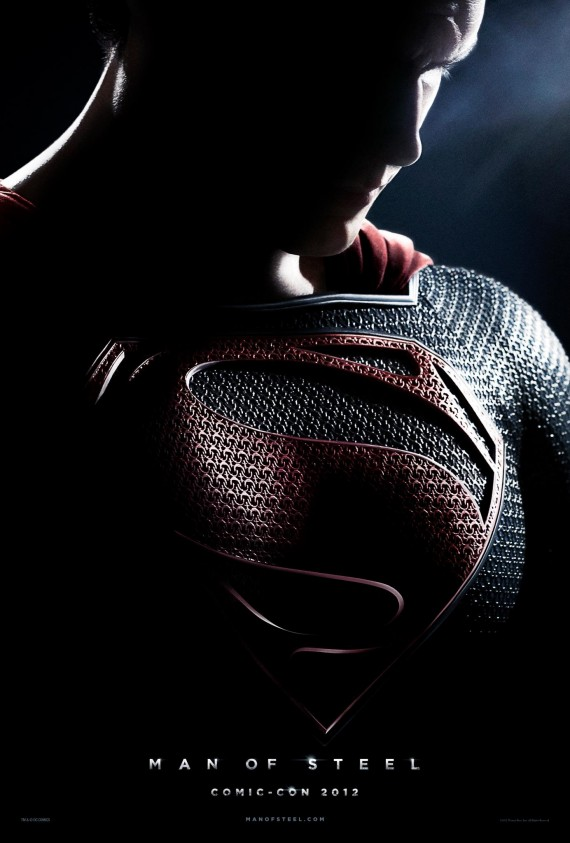 CCI: Man of Steel Teaser Poster Arrives As First Footage Debuts