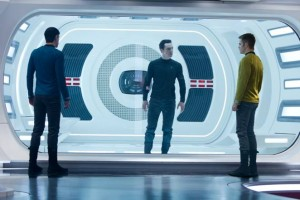 Star Trek Into Darkness: Zachary Quinto, Benedict Cumberbatch, and Chris Pine