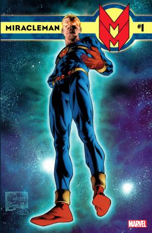 Miracleman #1 cover by Joe Quesada