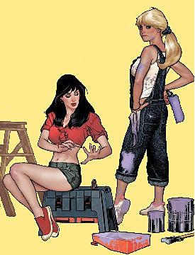 Betty & Veronica Adam Hughes