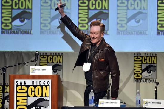 Conan O'Brien San Diego Comic Con