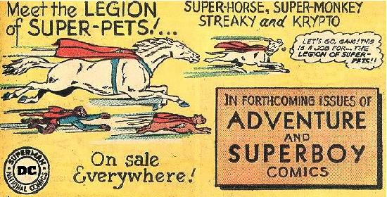 Super-Pets 1962