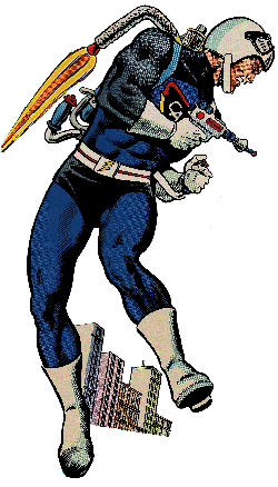 Jet-Pack Captain-Action MURPHY ANDERSON