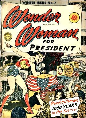 Wonder Woman for President