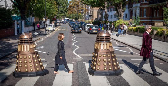 DR WHO ABBEY ROAD