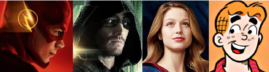Flash Arrow Supergirl Archie