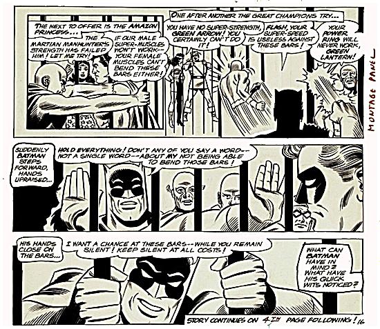 Batman Bends the Bars 1