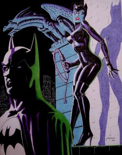 Batman Catwoman Gulacy