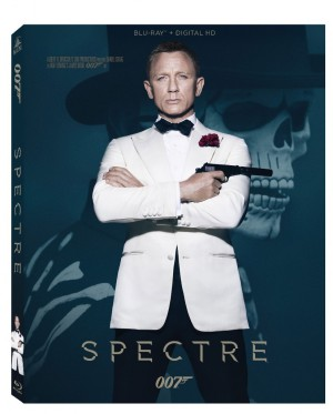 Spectre bluray cover