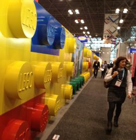 Wall of Lego Toyfair 2016