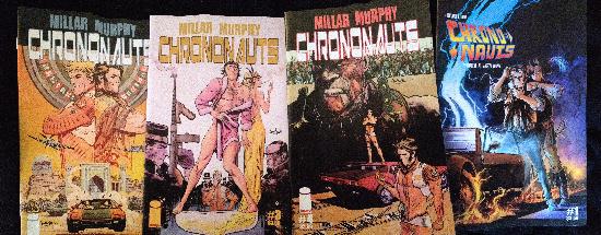 Chrononauts 4 issues