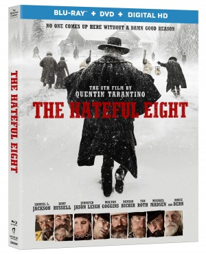 Hateful Eight Blu-ray-Cover