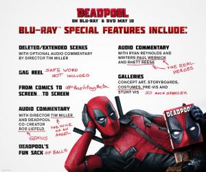 Deadpool DVD PR