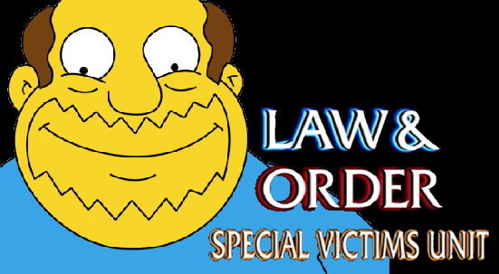 Law & Order SVU Comic Book Guy