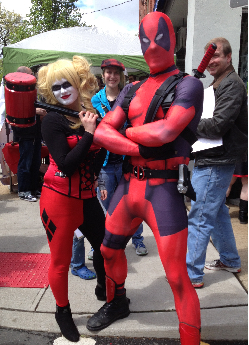 Dewey City Deadpool Harley