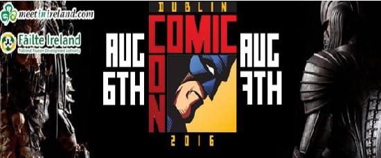 Dublin Comic Con logo
