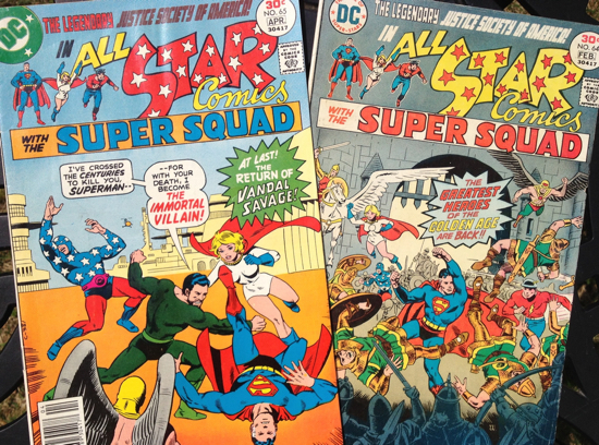 JSA All Star Wood 65 and 64