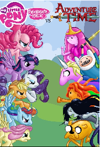 My Little Pony vs Adenture Time