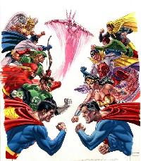 Ordway JLA vs JSA