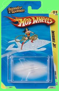 Hot Wheels Invisible Airplane