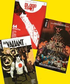 Valiant and Bloodshot