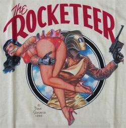 1984 Rocketeer SDCC SHIRT Graphitti