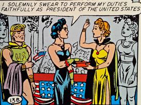 Wonder Woman Inaugeration