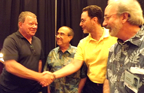 Bob Greenberger, Howie and Shatner