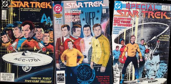 DC Star Trek Comics