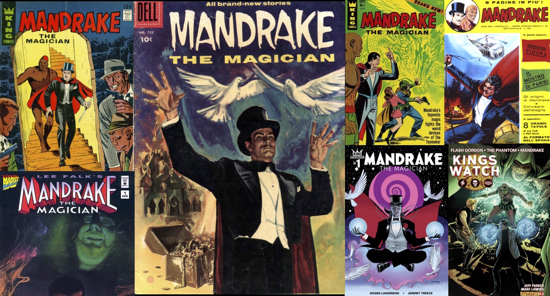 Mandrake Covers for ComicMix