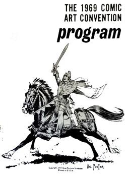 New York Comic Art Convention Program 1969