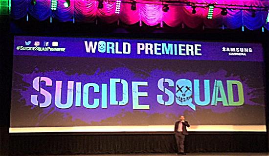Suicide Squad Beacon Premiere