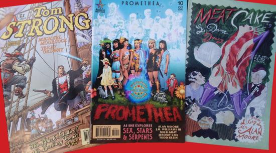 Three Alan Moore Comics