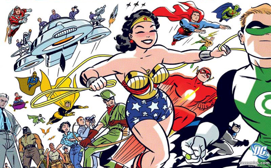 COMIC BOOK REVIEW DC THE NEW FRONTIER