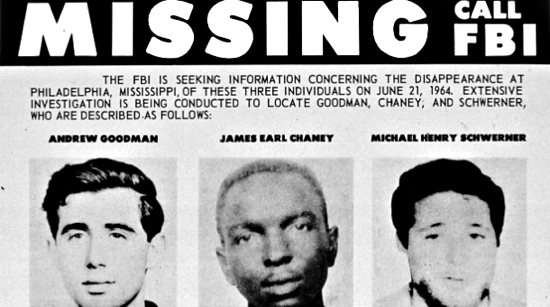 schwerner-chaney-goodman-missing-fbi